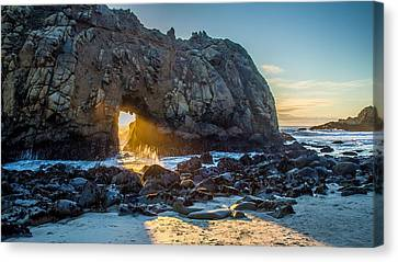 Doorway To Heaven Canvas Print by Pierre Leclerc Photography