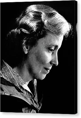 Dorothy Hodgkin Canvas Print by Emilio Segre Visual Archives/american Institute Of Physics