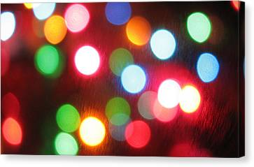 Dots Nice Canvas Print by James Hammen