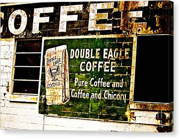 Double Eagle Coffee Canvas Print by Scott Pellegrin