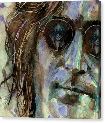 Double Fantasy Canvas Print by Paul Lovering