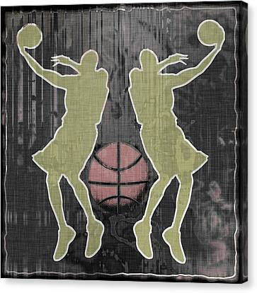 Double Hook Canvas Print by David G Paul