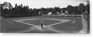 Doubleday Field Cooperstown Ny Canvas Print by Panoramic Images
