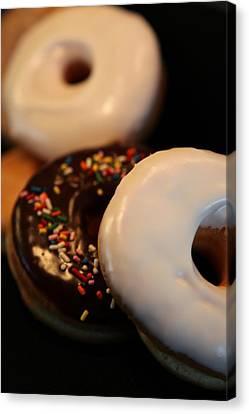 Doughnut Roll Canvas Print by Karen Wiles