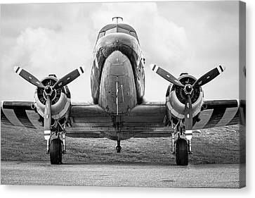 Douglass C-47 Skytrain - Dakota - Gooney Bird Canvas Print by Gary Heller