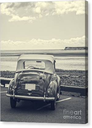 Down By The Shore Canvas Print by Edward Fielding