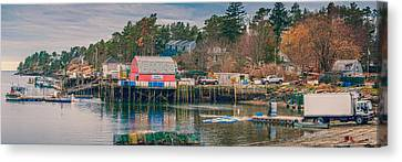 Downeast Canvas Print by Guy Whiteley