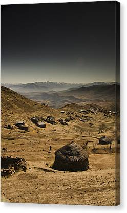 Downhill Canvas Print by Aaron S Bedell