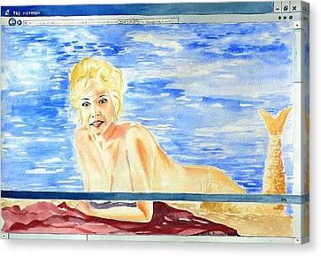 Downloading Canvas Print by Geeta Biswas