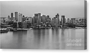 Downtown Boston Canvas Print by Twenty Two North Photography