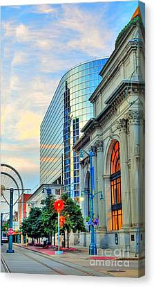 Downtown Buffalo Canvas Print by Kathleen Struckle