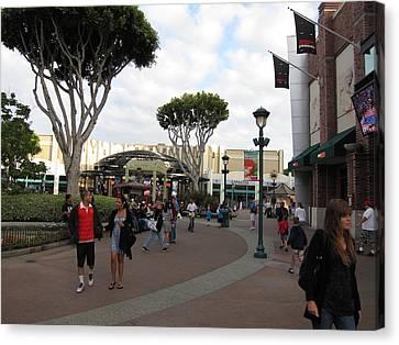 Downtown Disney Anaheim - 12122 Canvas Print by DC Photographer