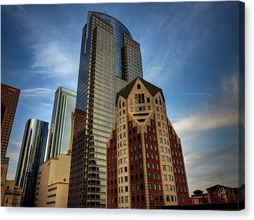 Downtown Los Angeles 002 Canvas Print by Lance Vaughn