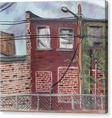 Downtown Warrensburg Canvas Print by Billy Granneman