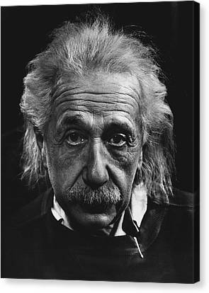 Dr. Albert Einstein Canvas Print by Retro Images Archive