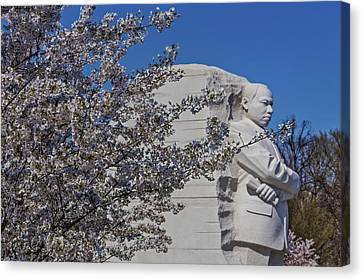 Dr Martin Luther King Jr Memorial Canvas Print by Susan Candelario