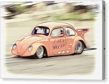 Drag Race Canvas Print by Steve McKinzie