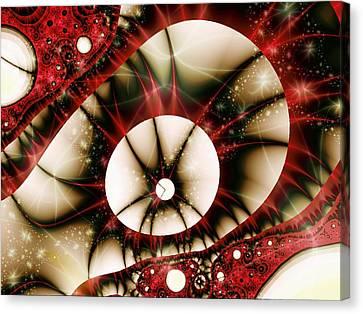 Dragon Eye Canvas Print by Anastasiya Malakhova