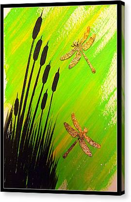 Dragonfly Dreams Canvas Print by Darren Robinson