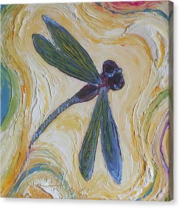Dragonfly II Canvas Print by Paris Wyatt Llanso