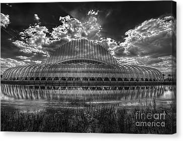Dramatic Sky Canvas Print by Marvin Spates