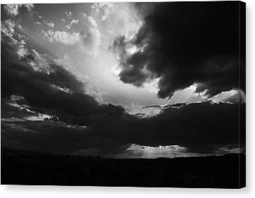 Dramatic Sky Canvas Print by Stefan Dinov