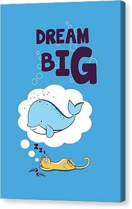 Dream Big Canvas Print by Neelanjana  Bandyopadhyay