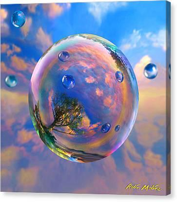 Dream Bubble Canvas Print by Robin Moline