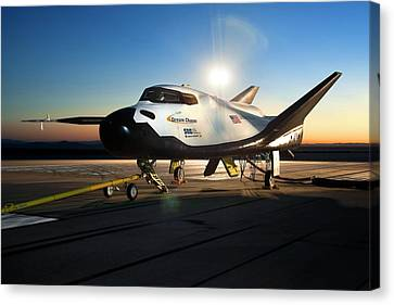 Dream Chaser Spaceplane Testing Canvas Print by Nasa
