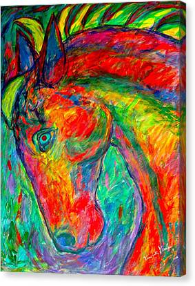 Dream Horse Canvas Print by Kendall Kessler