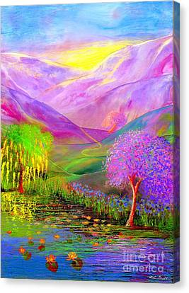 Dream Lake Canvas Print by Jane Small