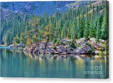 Dream Lake Canvas Print by Kathleen Struckle