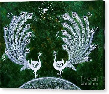 Dream Land Canvas Print by Anjali Vaidya
