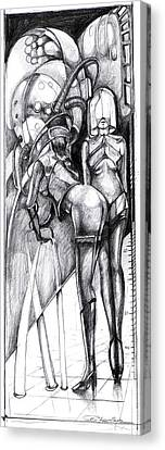 Dream Machine Canvas Print by Ertan Aktas