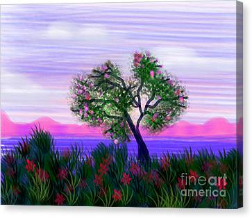 Dream Of Spring Canvas Print by Judy Via-Wolff