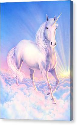 Dream Unicorn Canvas Print by Andrew Farley