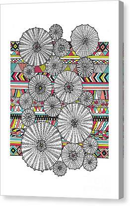 Dream Urchins Canvas Print by Susan Claire