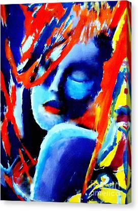 Dream Within A Dream Canvas Print by Helena Wierzbicki