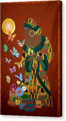Dreaming Butterflies Canvas Print by Linda Egland