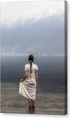 Dreaming In Water Canvas Print by Joana Kruse