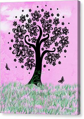 Dreaming Of Spring Canvas Print by Rhonda Barrett