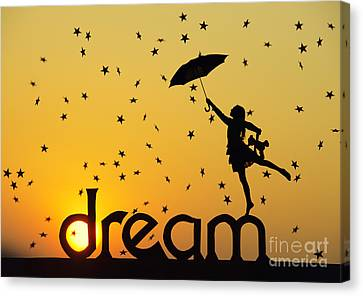 Dreaming Canvas Print by Tim Gainey