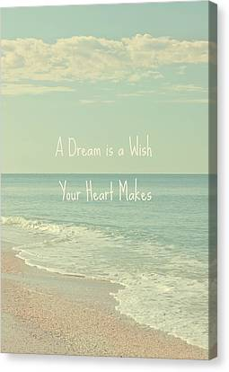 Dreams And Wishes Canvas Print by Kim Hojnacki