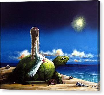 Dreams Before I Awake By Shawna Erback Canvas Print by Shawna Erback