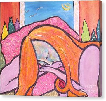 Dreamscape Canvas Print by Chaline Ouellet