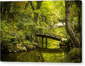 Dreamy Japanese Garden Canvas Print by Sebastian Musial