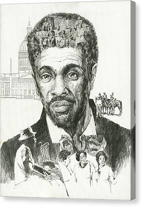 Dred Scott Canvas Print by Don  Langeneckert