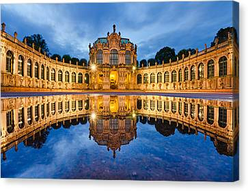 Dresden Reflections Canvas Print by Michael Abid