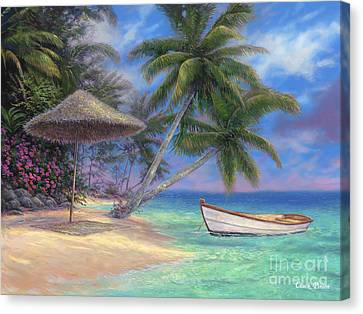 Drift Away Canvas Print by Chuck Pinson