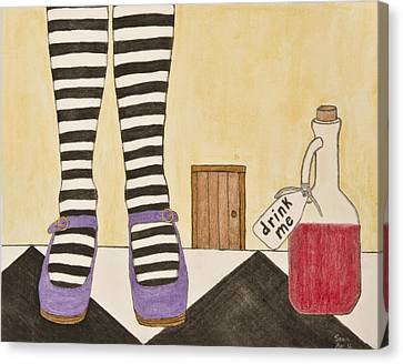 Drink Me Canvas Print by Sean Mitchell